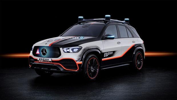 Mercedes-Forschungsfahrzeug ESF, Exterieur