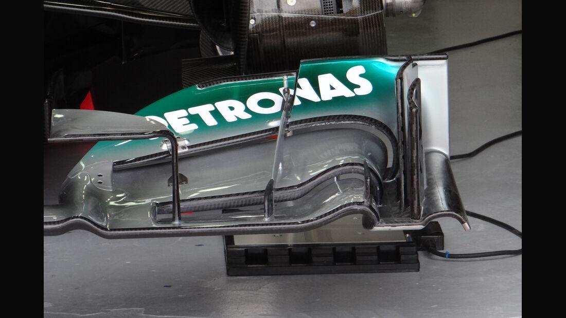 Mercedes Frontflügel GP Kanada 2012