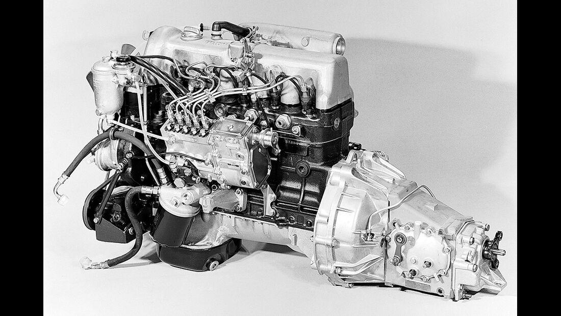 Mercedes Fünfzylinder-Diesel 3.0 240D