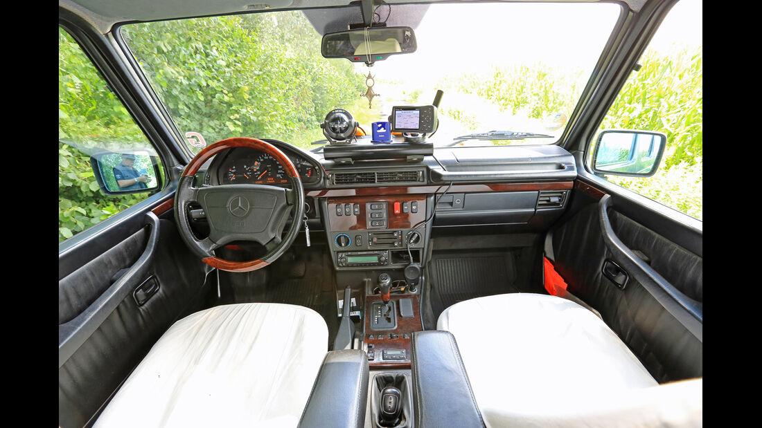 Mercedes G 300 Turbodiesel, Cockpit