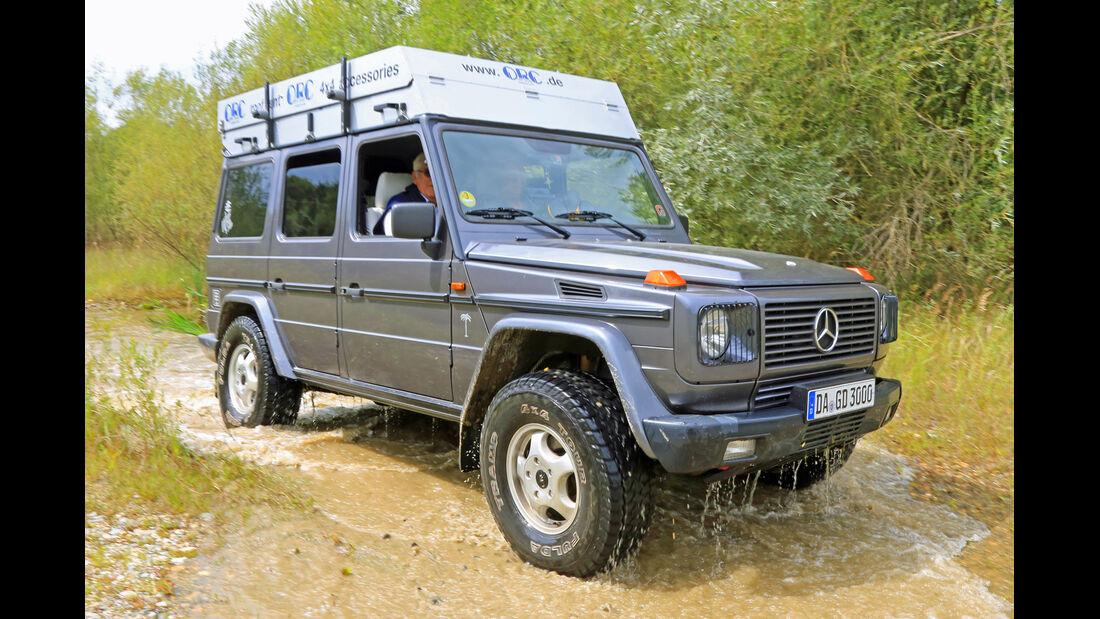 Mercedes G 300 Turbodiesel, Frontansicht