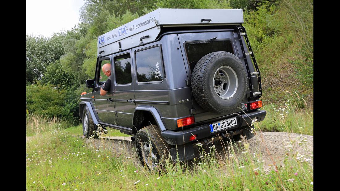 Mercedes G 300 Turbodiesel, Heckansicht