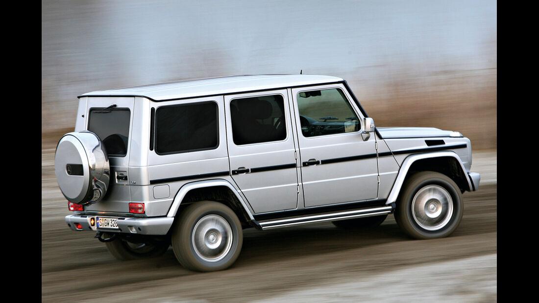 Mercedes G 320 CDI, Seitenansicht