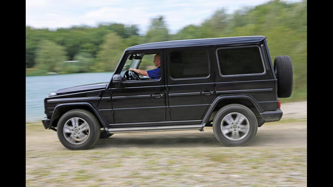 Mercedes G 350 Bluetec, Seitenansicht