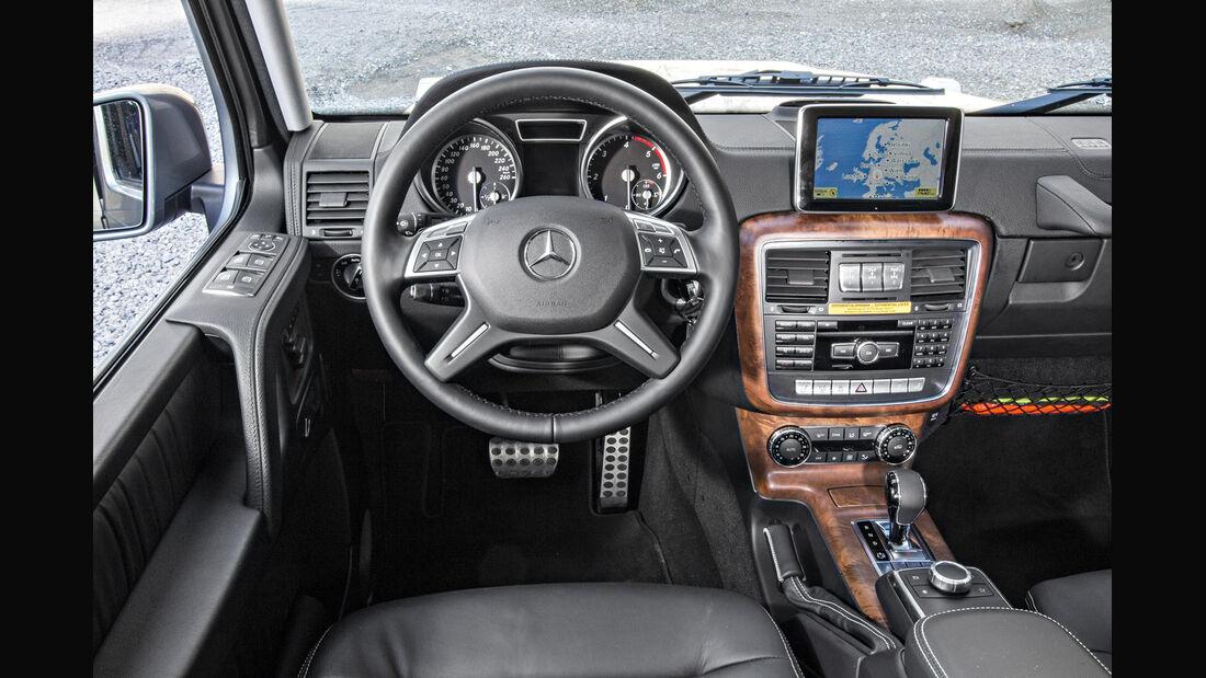 Mercedes G 350, Cockpit