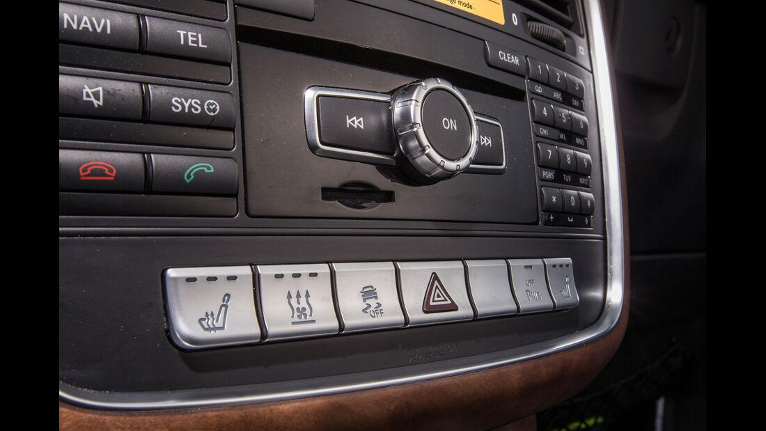 Mercedes G 350, Fahrassistenz