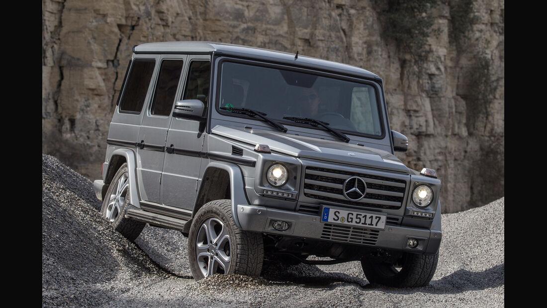 Mercedes G 350, Frontansicht