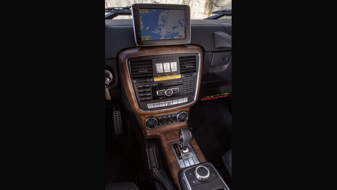 Mercedes G 350, Mittelkonsole