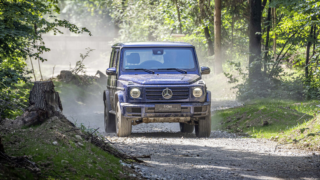Mercedes G 350 d, Exterieur