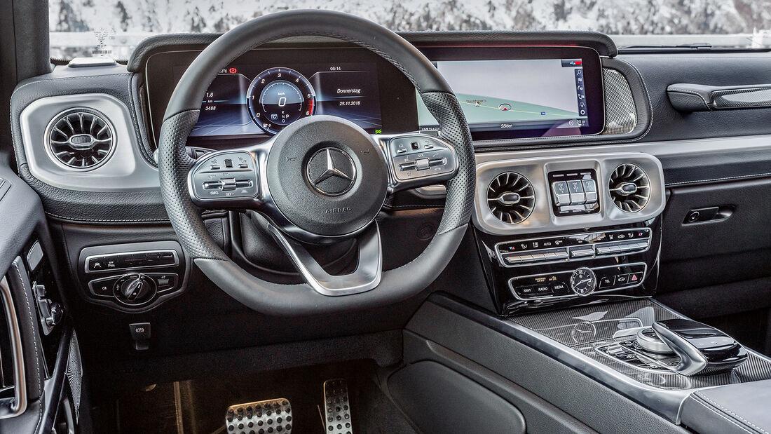 Mercedes G 350 d, Interieur