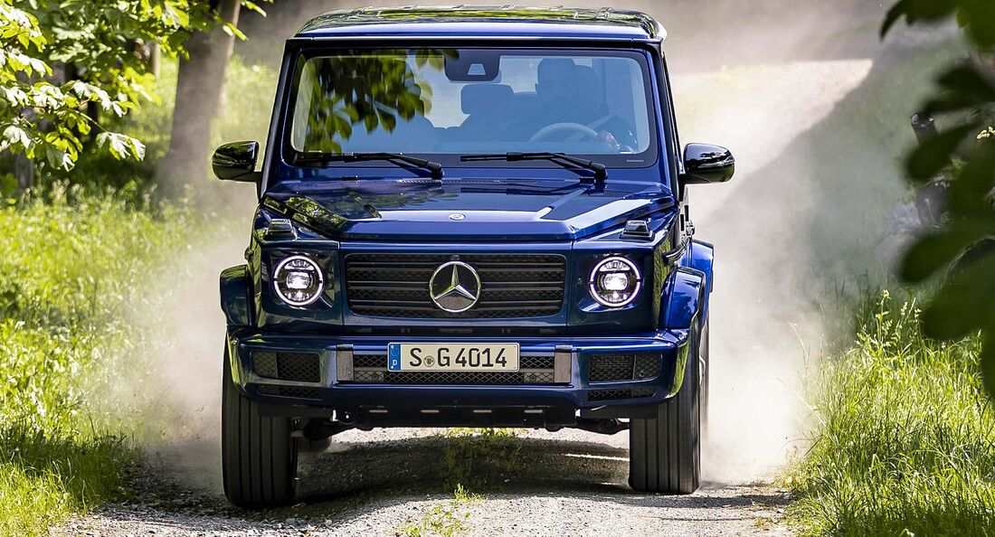 Mercedes G 400d Sondermodell STRONGER THAN TIME