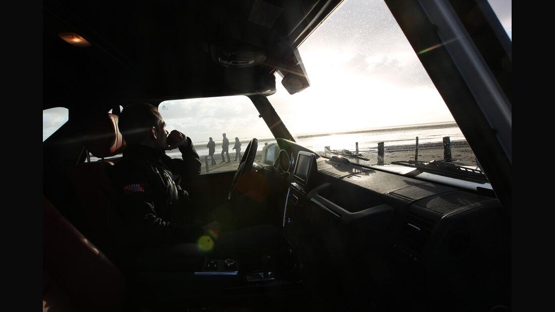 Mercedes G 500 Cabrio, Cockpit