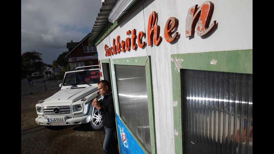Mercedes G 500 Cabrio, Frontansicht, Jörn Thomas
