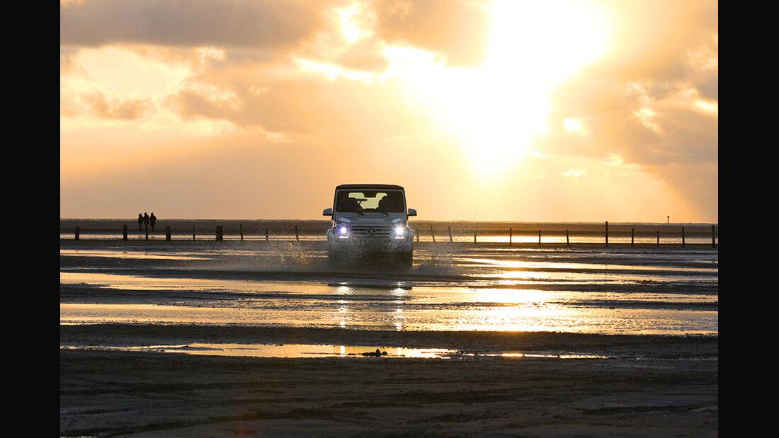Mercedes G 500 Cabrio, Sankt Peter-Ording