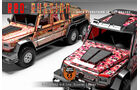 Mercedes G 63 AMG 6x6 Dartz Red Russian