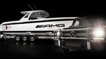 Mercedes G 63 AMG INSPIRES THE CIGARETTE 42' HUNTRESS