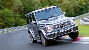 Mercedes G 65 AMG, Frontansicht, Kurvenfahrt