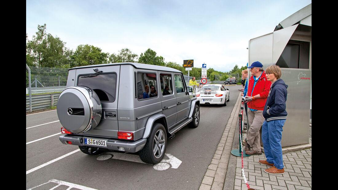 Mercedes G 65 AMG, Heckansicht