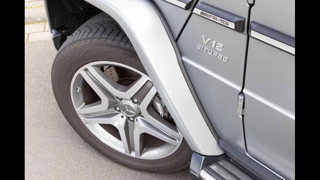Mercedes G 65 AMG, Rad, Felge