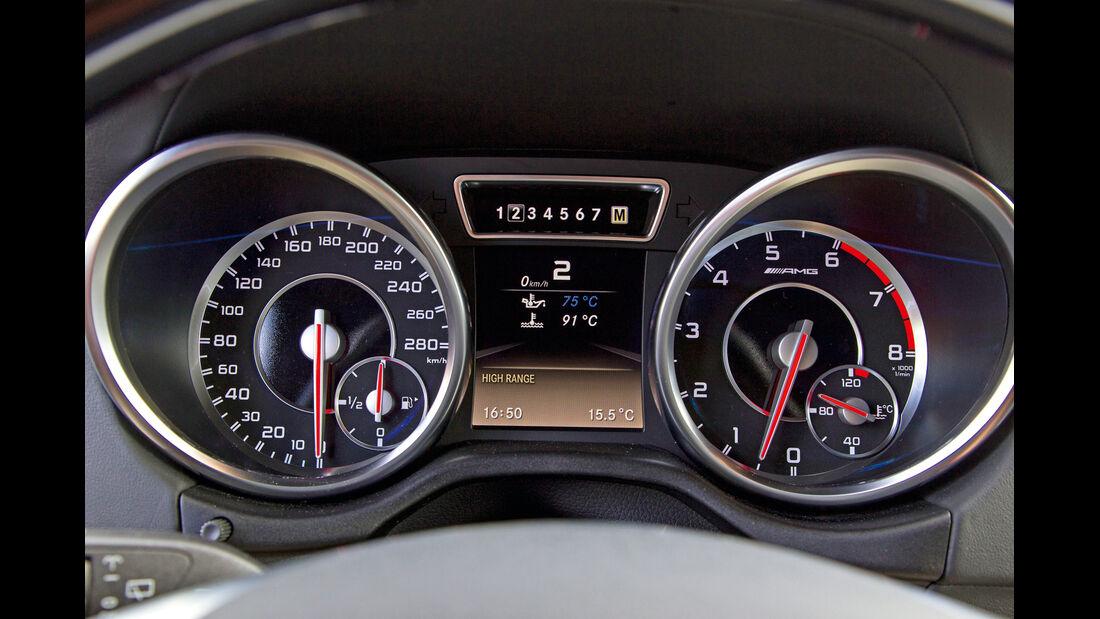 Mercedes G 65 AMG, Rundelemente, Tacho