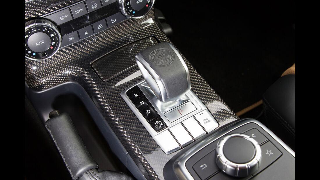 Mercedes G 65 AMG, Schalthebel, Schaltknauf