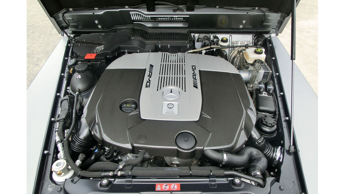 Mercedes G 65 AMG V12 Motor