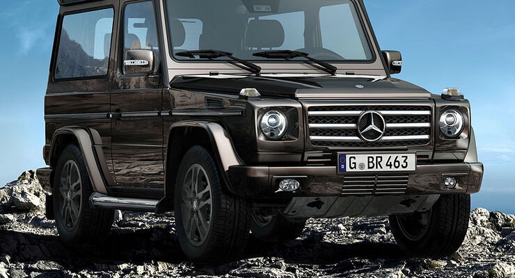 Mercedes G / G-Klasse Final Edition / Edition Select