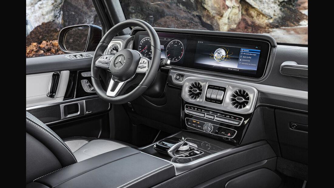 Mercedes G-Klasse 2018 Cockpit