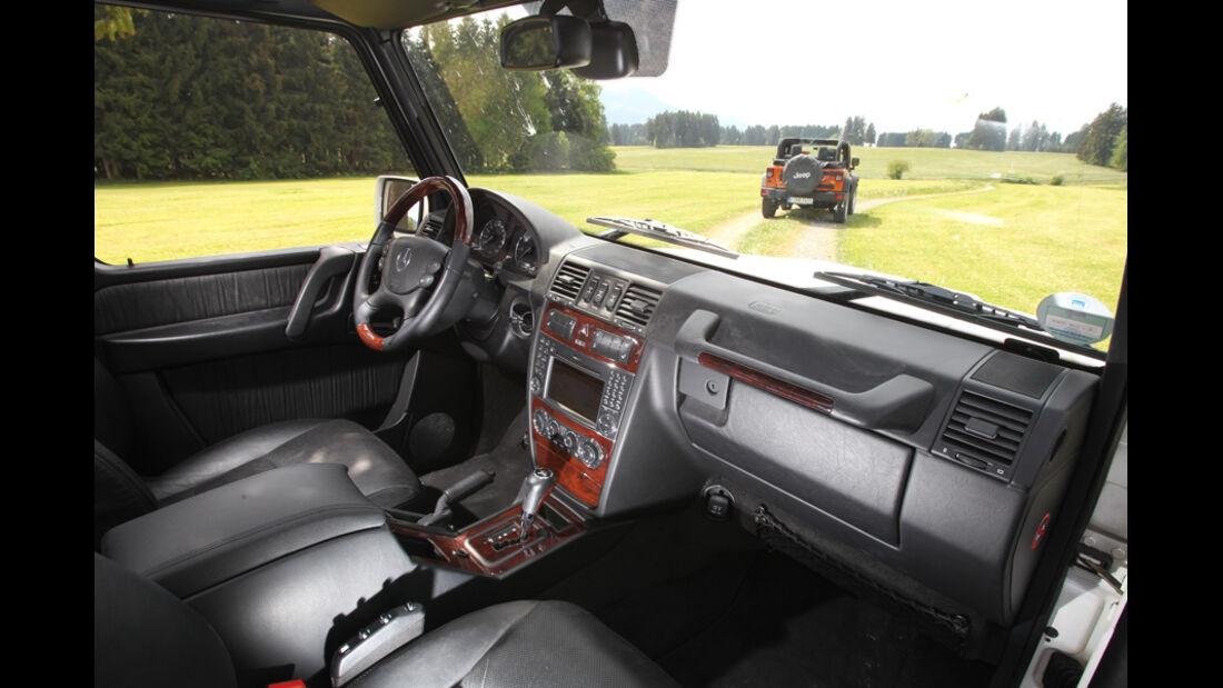 Mercedes G-Klasse, Cockpit