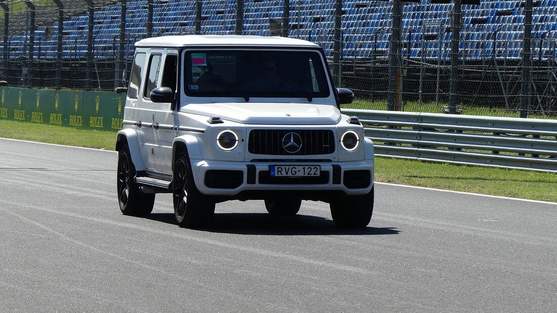 Mercedes G-Klasse - Formel 1 - GP Ungarn - Budapest - Donnerstag - 29. Juli 2021
