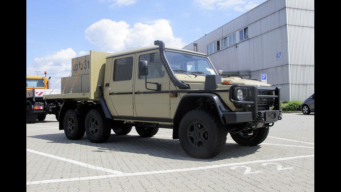 Mercedes G-Klasse Militär Eurosatory 2014