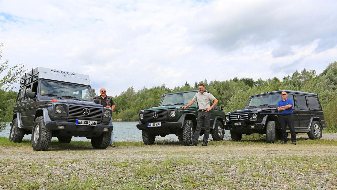Mercedes G-Klasse, Modellvarianten