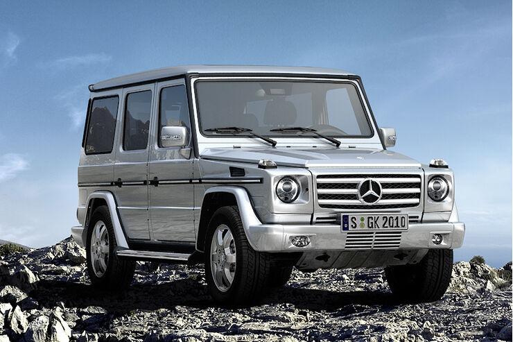 Mercedes G Offroad Challenge