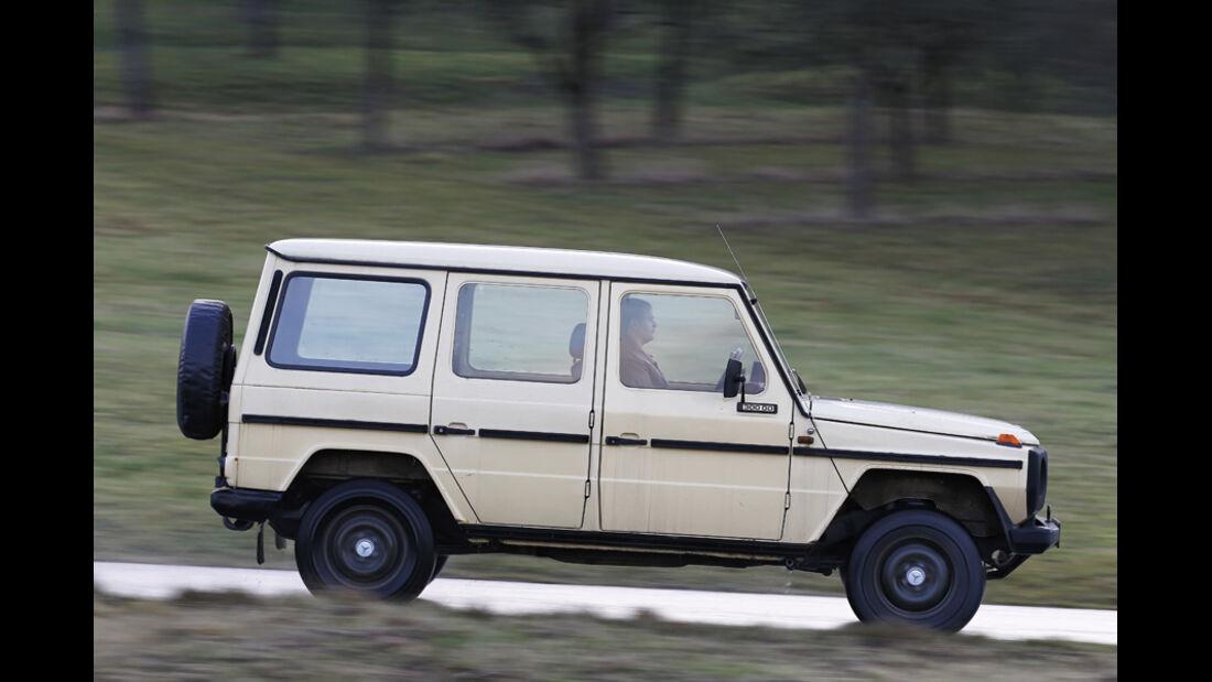 Mercedes G-Modell W 460, Seitenansicht