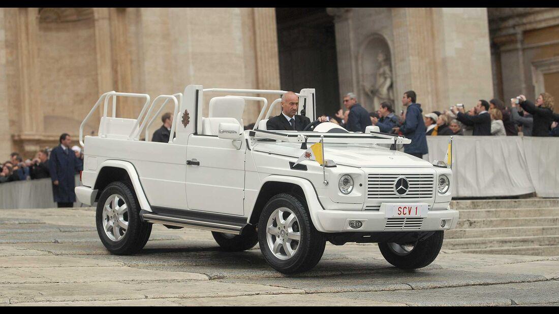 Mercedes G Papamobil