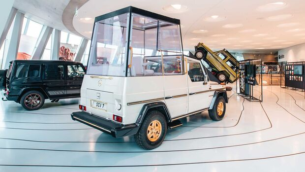 Mercedes G Papamobil Museum