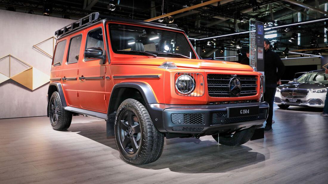 Mercedes G Professional Line IAA 2021