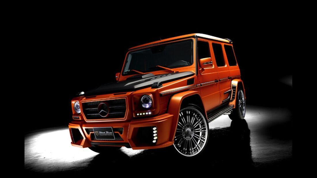 Mercedes G Sports Line Black Bison Edition Wald Tuning