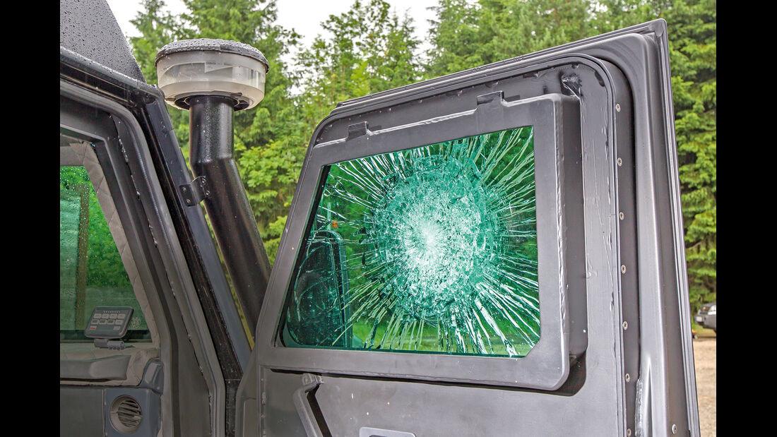 Mercedes G Valiant, Seitenfenster
