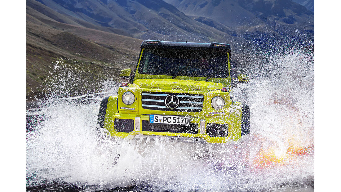 Mercedes G500 4×4²