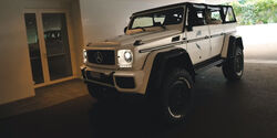Mercedes G500 4X4² Safari Cabrio Jon Olsson