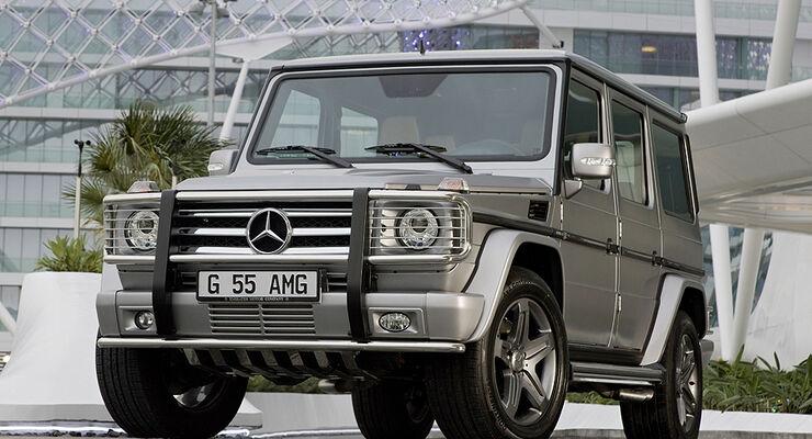 Mercedes G55 AMG Edition 79 Dubai 2009