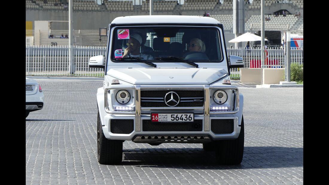 Mercedes G63 AMG - Carspotting - GP Abu Dhabi 2016