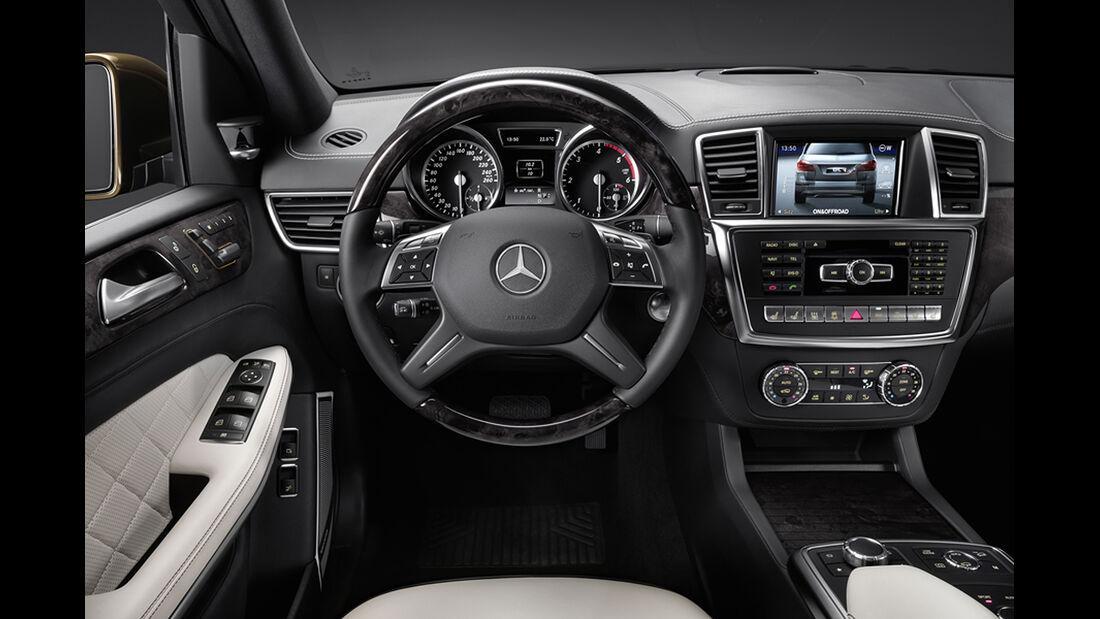 Mercedes GL 2012, Cockpit