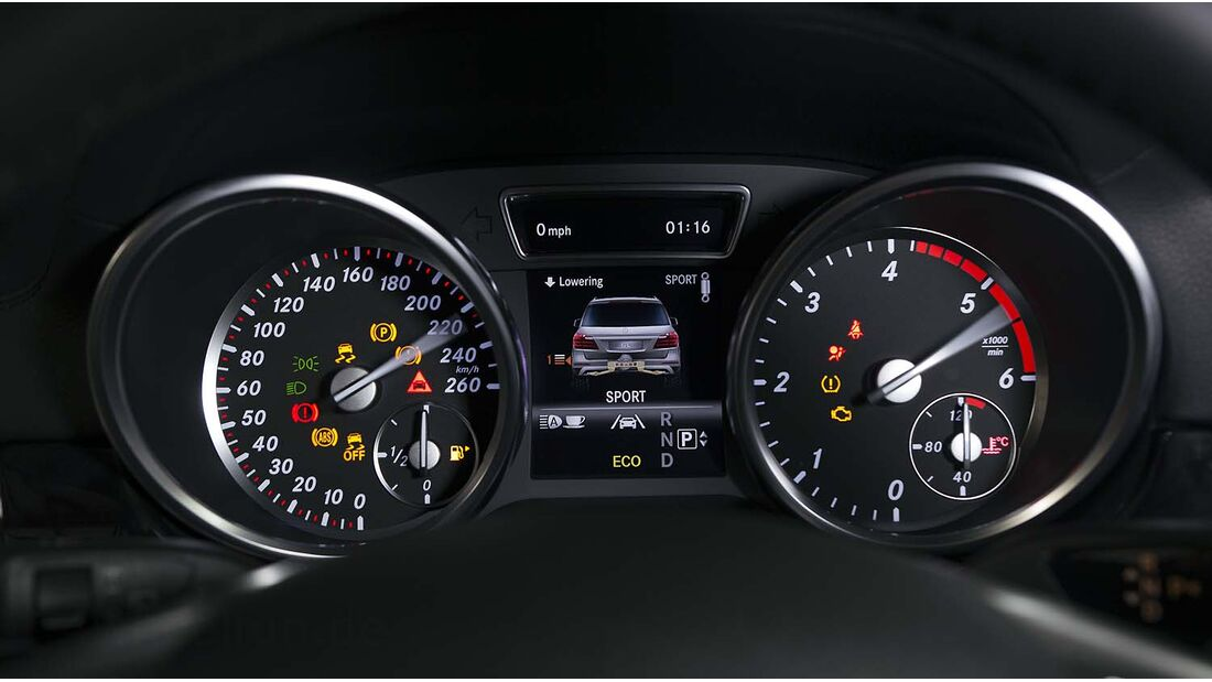 Mercedes GL 350 BlueTEC 2012