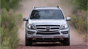 Mercedes GL 350 BlueTEC 2012