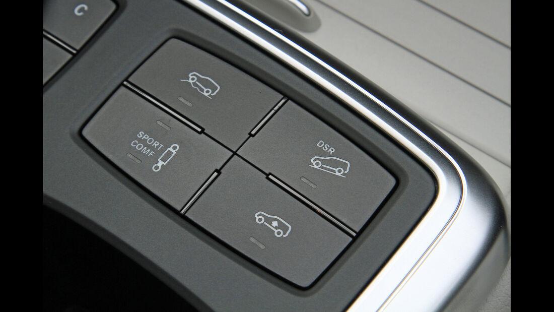 Mercedes GL 350 Bluetec, Bedienelemente