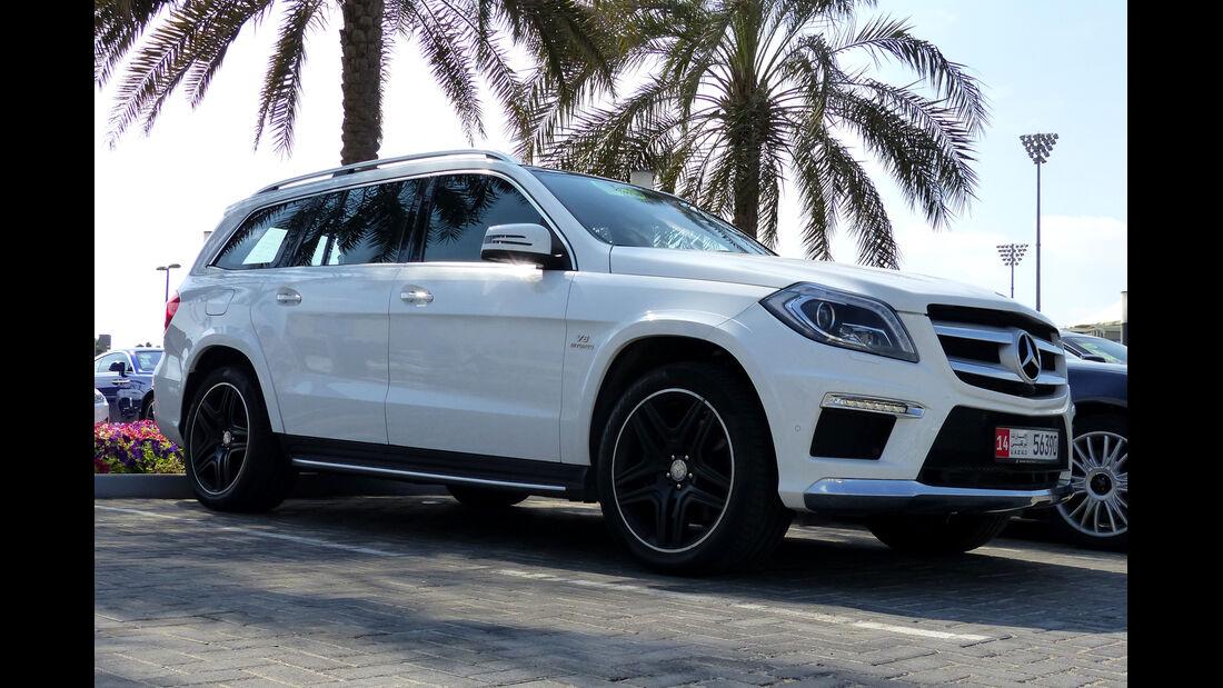 Mercedes GL 63 AMG - F1 Abu Dhabi 2014 - Carspotting