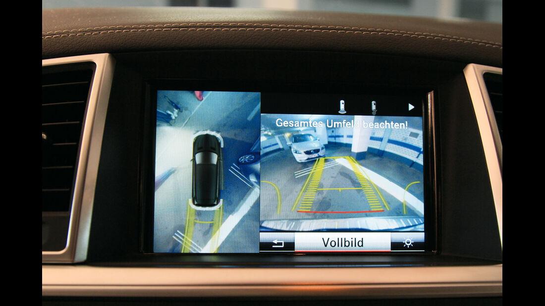 Mercedes GL, Einparktest