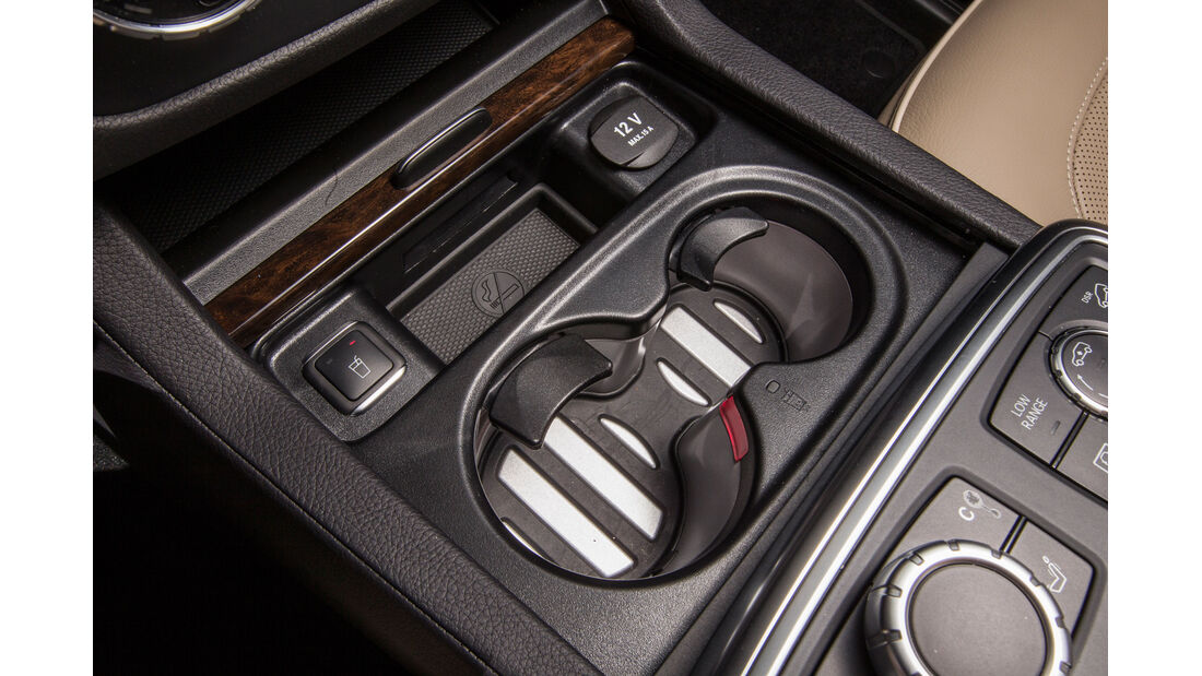 Mercedes GL, Getränkehalter